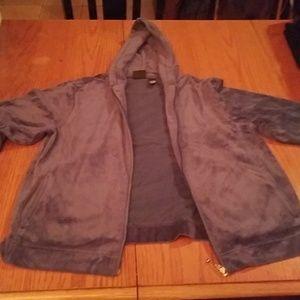 ✨B3G1 Bobbie Brooks L Dark Blue Jacket w/ Hood